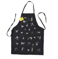 apron adult black VE2